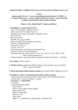 """""""Zborník Spiš 7 s mapovou prílohou""""."""