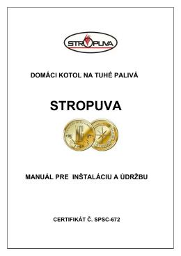 STROPUVA - Webnode