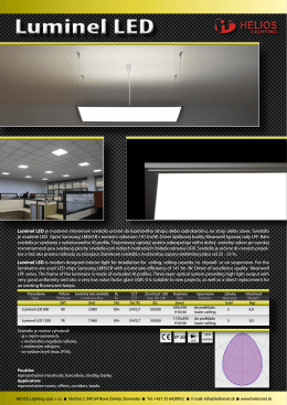Luminel LED - Helios Lighting