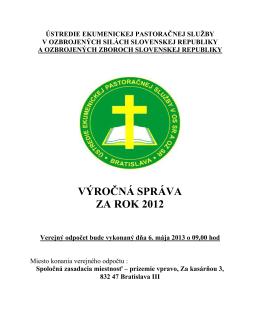 ústredie ekumenickej pastoračnej služby v ozbrojených silách