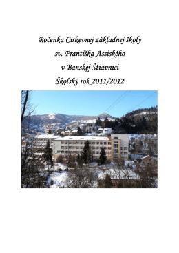 Ročenka - Spojená katolícka škola sv. Františka Assiského v