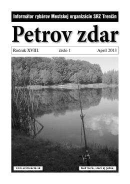 Petrov zdar 01/2013