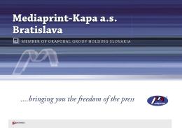 Mediaprint-Kapa a.s. Bratislava