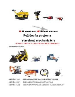 Cenník v .PDF