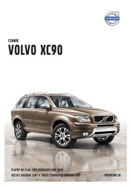cenník - Volvo Cars