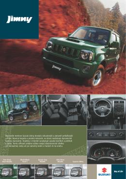 Najnovšie terénne Suzuki Jimny dostalo robustnejší a