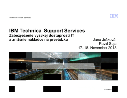 IBM Technical Support Services
