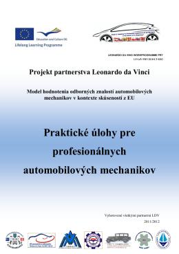 Praktické úlohy pre profesionálnych automobilových