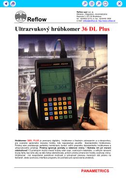 Reflow Ultrazvukový hrúbkomer 36 DL Plus