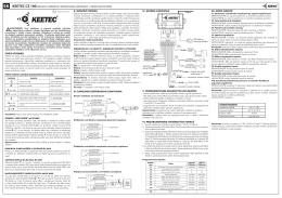 Návod na použitie KEETEC CZ 100 - Auto