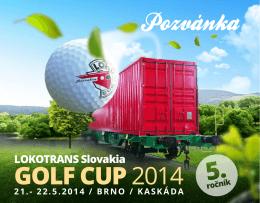 Golfový turnaj LOKOTRANS Slovakia GOLF CUP 2014