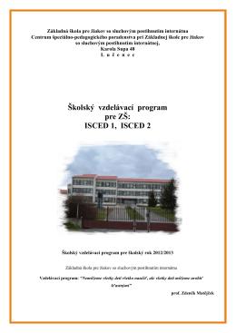Základná škola pre žiakov so sluchovým