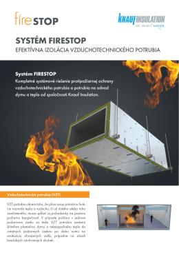 SYSTÉM FIRESTOP