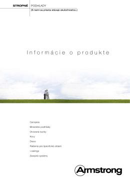 Informácie o produkte