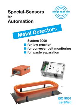 Metal Detectors - EXIM
