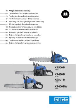 KS 450 B - Güde Slovakia sro