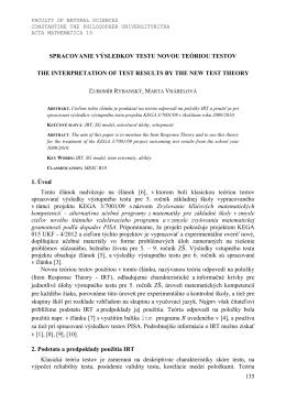 URL - Univerzita Konštantína Filozofa v Nitre