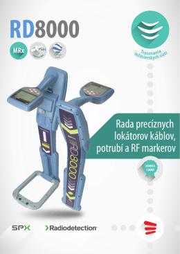 Prospekt - RD8000 MRx