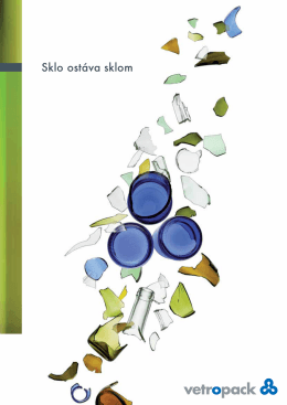 Recyklácia skla