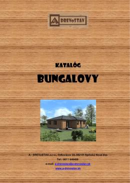Katalóg bungalovy