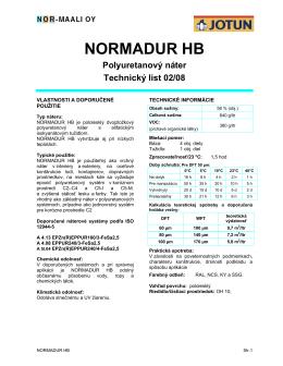 NORMADUR HB