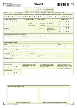 Účtovná závierka k 31.12.2012