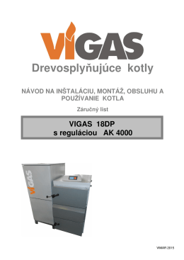 Návod na obsluhu VIGAS 18DP AK4000 (PDF 5,6 MB)