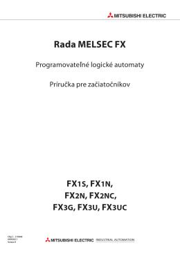Rada MELSEC FX