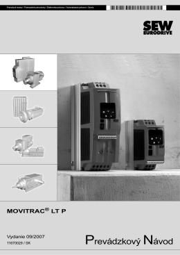 MOVITRAC LT P / Návod na použitie / 2007-09 - SEW