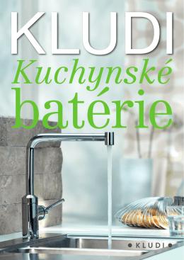 KLUDI – Kuchynské batérie