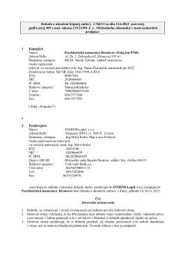 Dohoda o ukončení Kúpnej zmluvy č.760_13