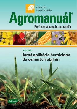 Jarná aplikácia herbicídov do ozimných obilnín