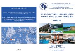 Program 2011 - nefrosestry.sk