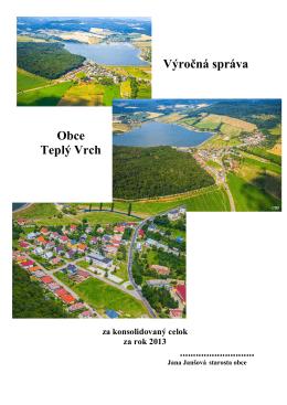 Výročná správa spojená 2013