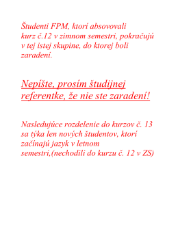 FPM - 20132014 - 1r. 1Cj - kurz č. 13