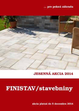 Jesenná ponuka 2014 FINISTAV (PDF 4,5 MB)