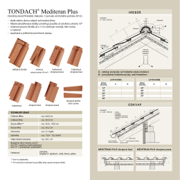 TONDACH® Mediteran Plus