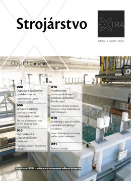 Jún 2012 - Strojárstvo