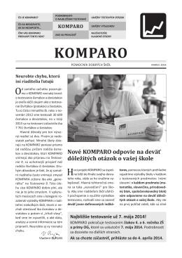 KOMPARO ZŠ46 - úvodná brožúra 13-14.indd
