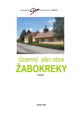 UPZ_text - Žabokreky