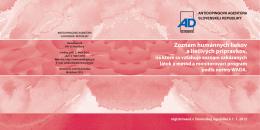 Pozrieť dokument - Antidopingová agentúra