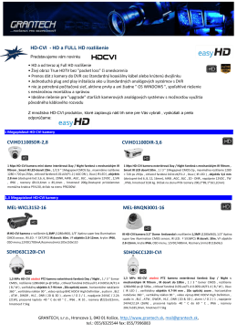 Newsletter HD-CVI easyHD