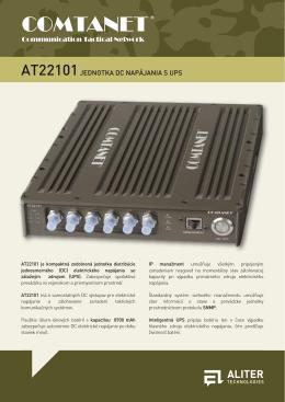 AT22101 Jednotka DC napájania s UPS