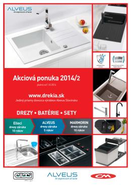 Akciová ponuka 2014/2
