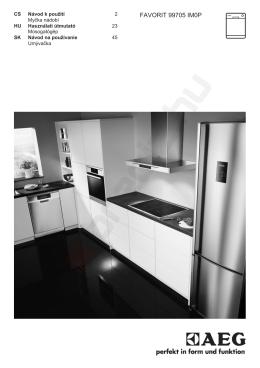 AEG F99705IMOP beépíthető mosogatógép