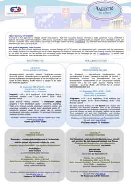 Nr. 8/2013 - Slovensko-Rakúska obchodná komora