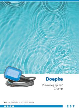 Plavákový spínač Champ - Elektro-System