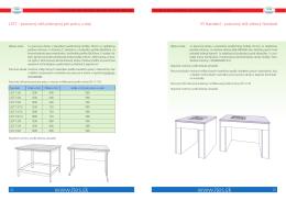 Váhové stoly
