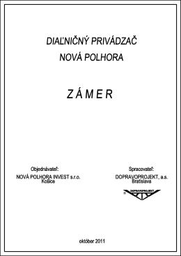 Z ` M E R - Nová Polhora