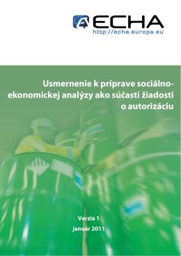 COVER PAGE - ECHA